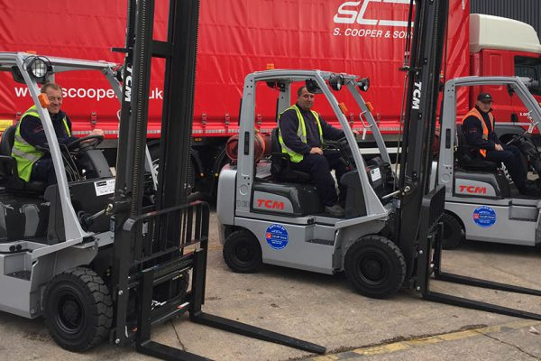 May the fork-lifts be with you